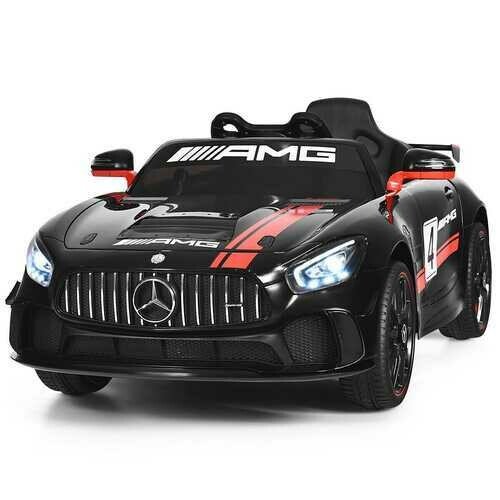 12V Kids Ride On Car with Remote Control-Black