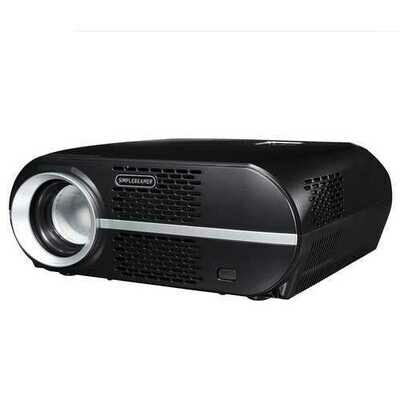 3500 Lumen 1080P LED Projector Home Theater Cinema 3D HDMI VGA USB Multimedia