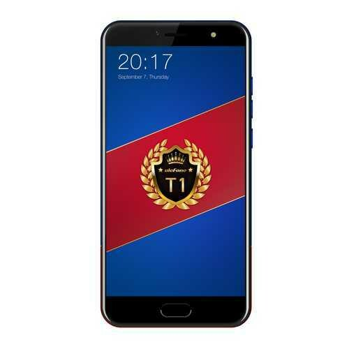 Ulefone T1 Smartphone - Red And Blue