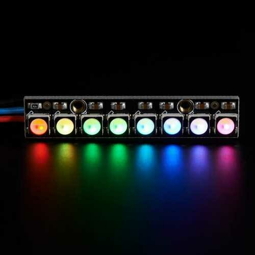 5Pcs Straight Board 8x 5050 RGBW Cool White LED 6000K Display With Integrated Drivers Module