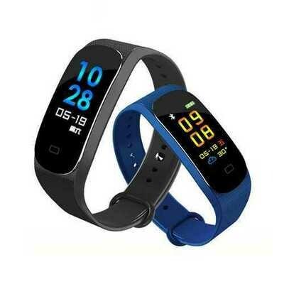 Bakeey M5 Blood Pressure Heart Rate Monitor Bracelet  bluetooth Smart Wristband