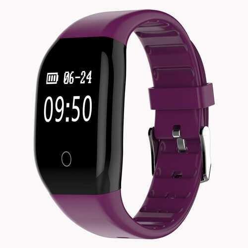 608HR OLED Heart Rate Sleep Monitor  IP67 Waterproof Smart Watch Bracelet Pedometer