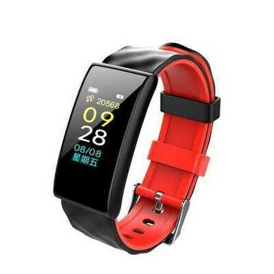 LYNWO M8 0.96inch OLED Heart Rate Monitor Blood Pressure Oxygen Fitness Tracker Smart Bracelet