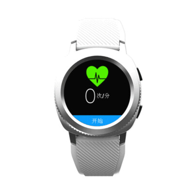Microwear L2 1.3inch IP68 Dynamic HR Sleep Monitor Phone Book Display Fitness Tracker Smart Watch