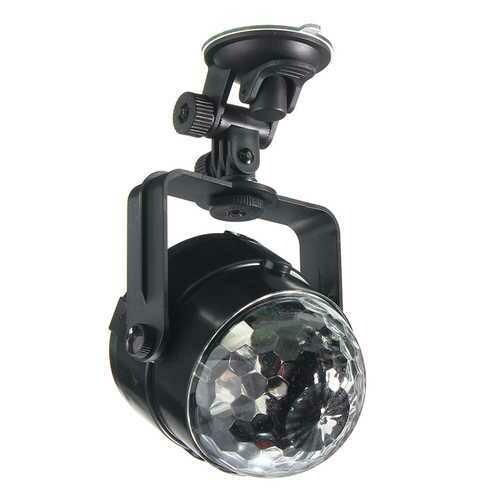 USB Mini Stage Effect Lighting Crystal Ball LED RGB Disco DJ Party KTV Club Show Lamp