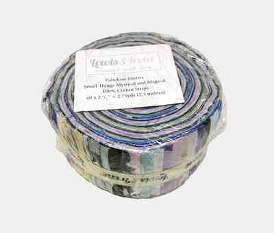 Lewis & Irene Small Things…Mystical & Magical Fabulous Forties Jelly Roll (Metallic)
