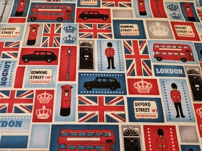 **REMNANT** Makower London - Blocks 50cm x 112cm