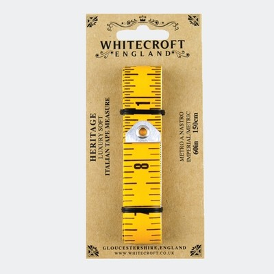 "Luxury Soft Italian Tape Measure. 60""/150cm"