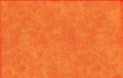 **REMNANT** Makower - Dimples Carrot 40cm x 112cm