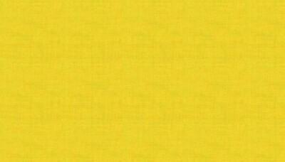 Makower Linen Texture - Sunflower