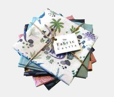 Lewis & Irene Kimmeridge Bay Fat Quarter Bundle