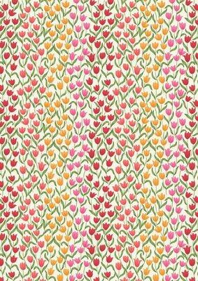 Lewis & Irene Tulip Fields - Tulip Fields on Cream