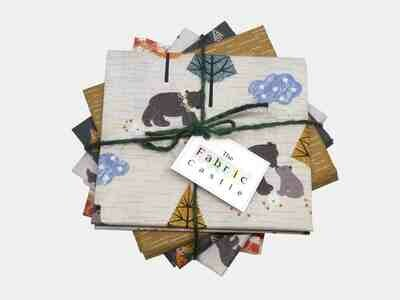 Lewis & Irene Bear Hug Fat Quarter Bundle