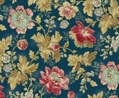 **REMNANT** Andover Edyta Sitar Super Bloom - Dusk 59cm x 112cm