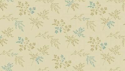 Andover Edyta Sitar Super Bloom - Twigs on Light Khaki