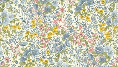 Andover Mayflower - Meadow on Cream
