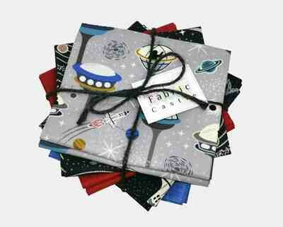 Lewis & Irene Light Years Fat Quarter Bundle (Glow in the Dark)
