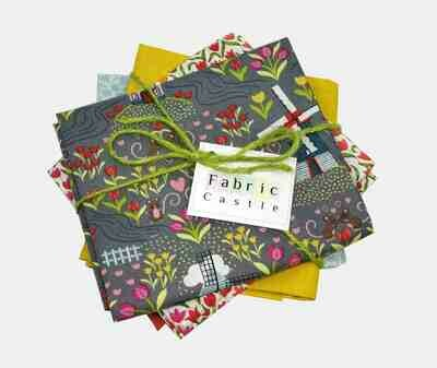 Lewis & Irene Tulip Fields Fat Quarter Bundle