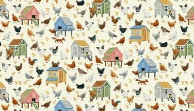 Makower Village Life - Chickens