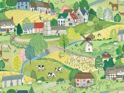 Makower Village Life - Scenic