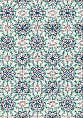 Lewis & Irene Soraya - Heart Floral on Cream