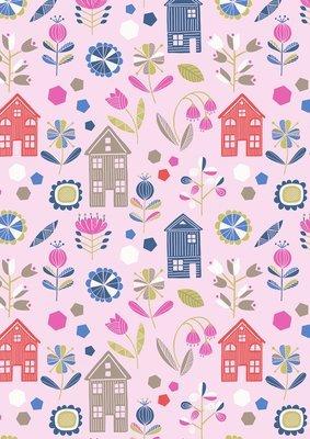 Lewis & Irene Hann's House - Hann's House on Pink