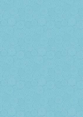Lewis & Irene Geometrix - Bright Blue Circles