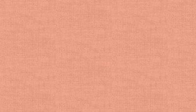 Makower Linen Texture - Coral Pink