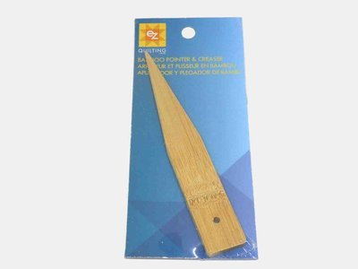 Ez Quilting - HQ85 Bamboo pointer creaser