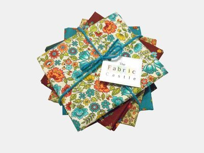 Makower Bloom Fat Quarter Bundle 2