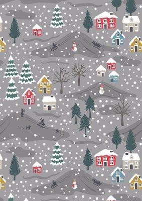 Lewis & Irene Snow Day - Snow Day on Grey