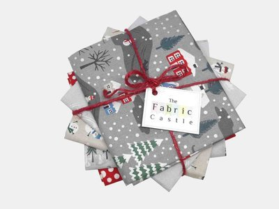 Lewis & Irene Snow Days Fat Quarter Bundle