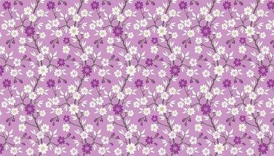 Makower Kimono - Blossom Tree on Lilac