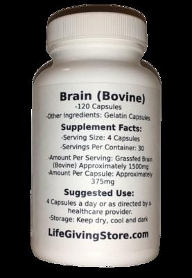 Grass Fed Beef Brain