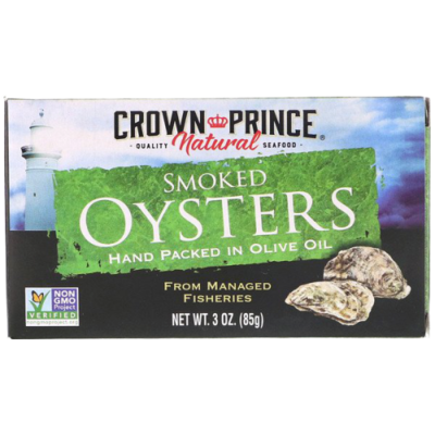 Oysters - Crown Prince Natural Smoked