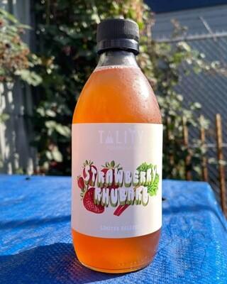 12-pack Strawberry Rhubarb Kombucha Case