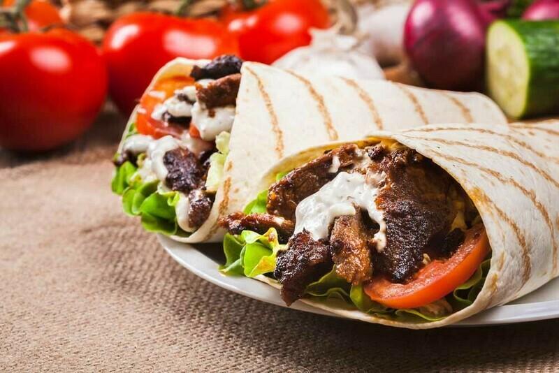 Beef Lavash Wrap