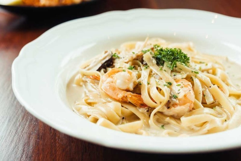 Fettuccine Stroganoff with Chicken