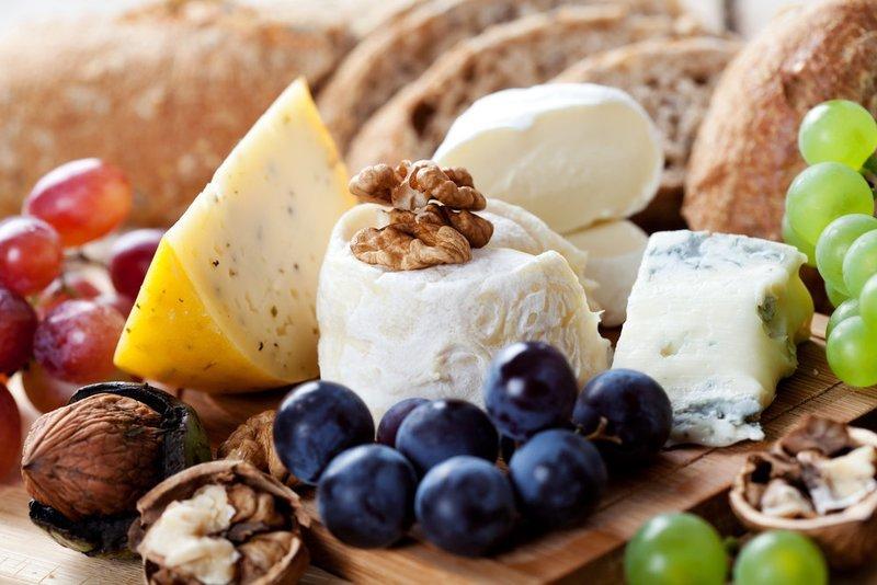 Cheese & Fresh Fruits