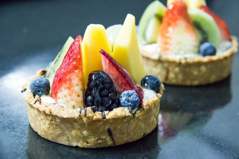 Fresh Fruit Tarts (10)