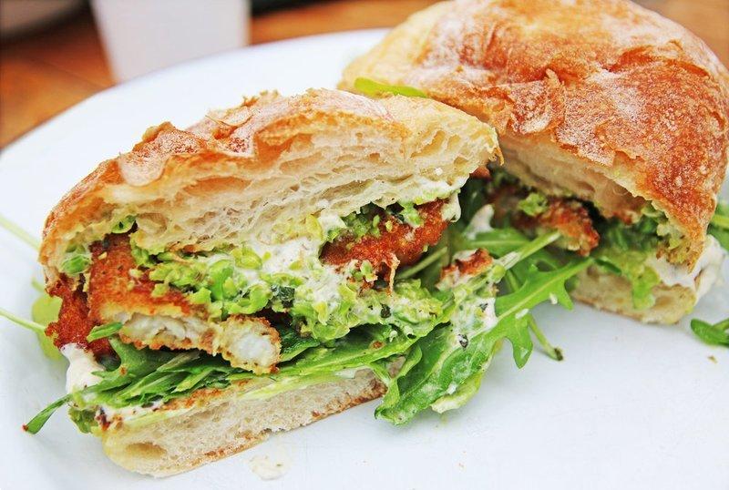 Sea Bass Sandwich