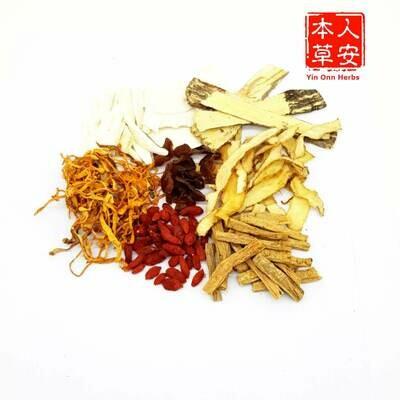 金虫草润肺汤 (Goldern Cordyceps Soup)