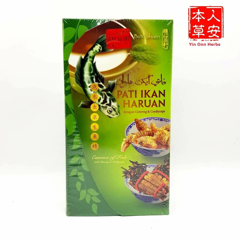 泡参虫草生鱼精 Essence of Fish with Herbs 70g x 6's