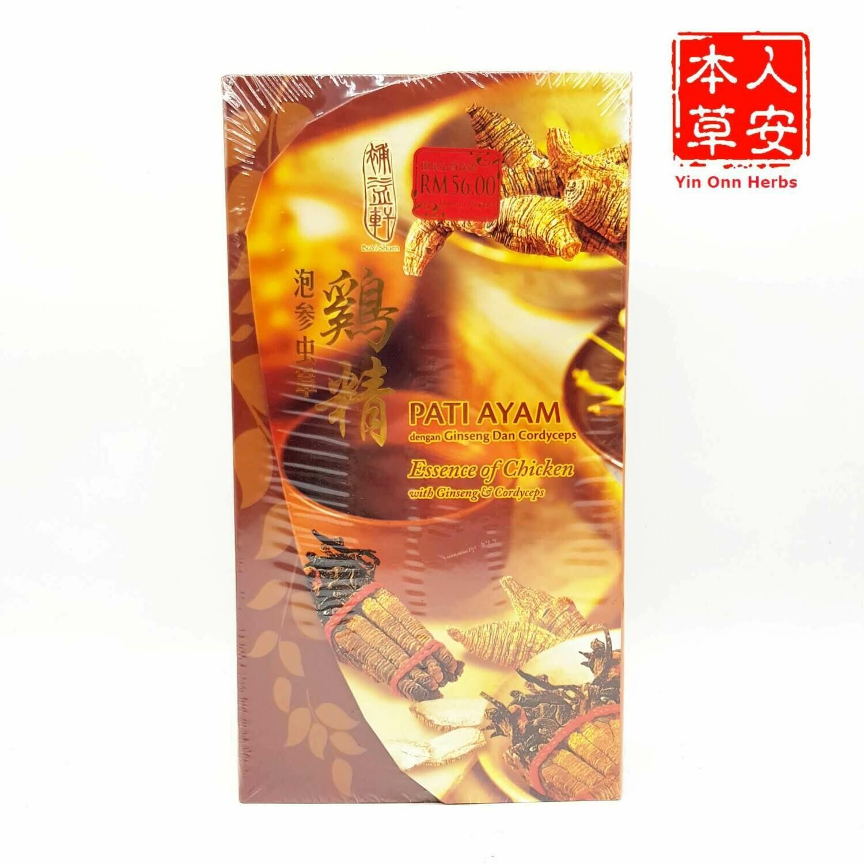 泡参虫草鸡精 Ess. of Chicken wt Ginseng&Cordyceps 6x70ml