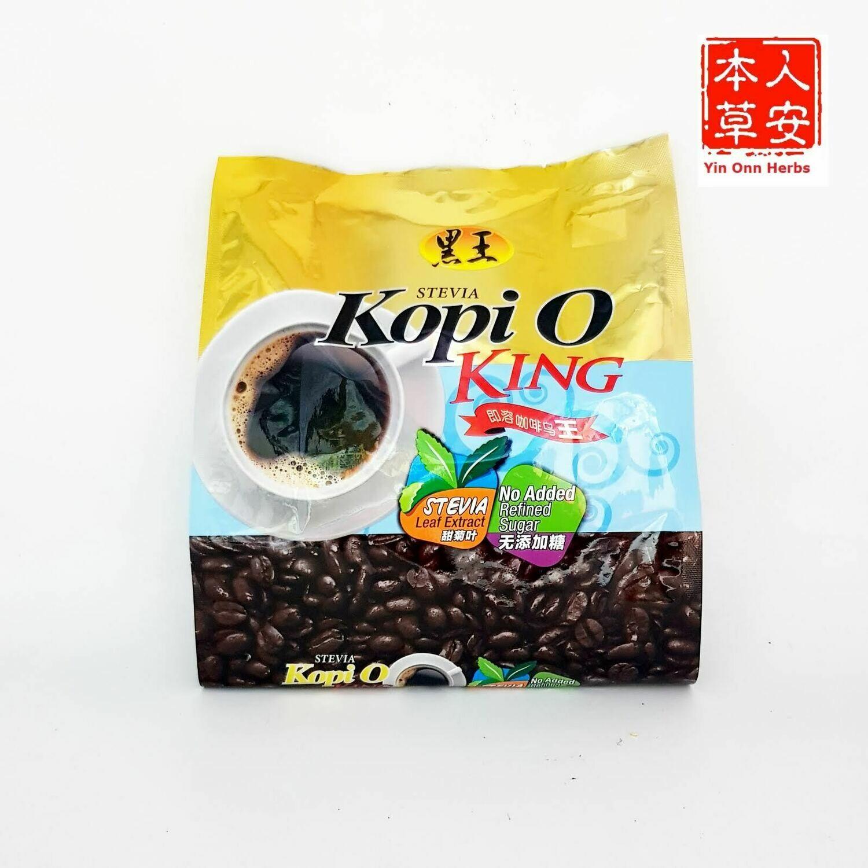 黑王即溶咖啡乌王添加甜菊叶 3gx20's Hei Hwang Stevia Kopi O King