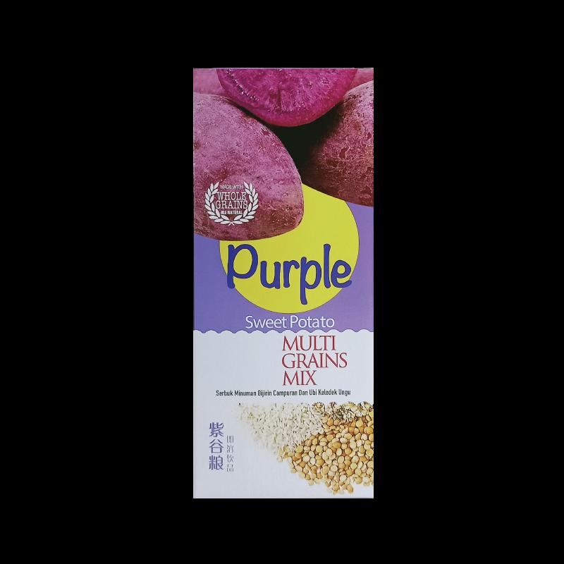 Hei Hwang Purple Sweet Potato Multi Grains Mix 紫谷粮即溶饮料 15's x 30g