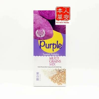 黑王紫谷粮即溶饮料 30gx15's Hei Hwang Purple Sweet Potato Multi Grains Mix