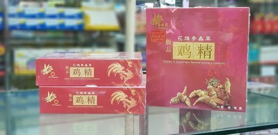 花旗参虫草鸡精 Essence Chickenof Cordyceps with Ginseng 6x70ml