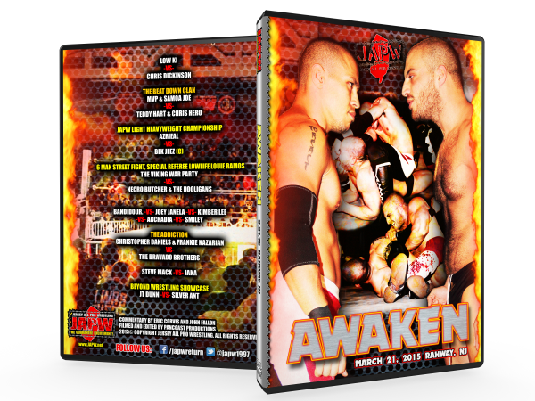 JAPW Awaken (03/21/15 Rahway, NJ)