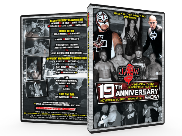 JAPW 19th Anniversary Show (11/14/15 Rahway, NJ)
